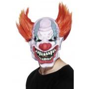 Masca horror clown cu par
