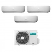Hisense Condizionatore Hisense Mini Apple Pie Trial Split Inverter 9+9+9 9000+9000+9000 Btu A++
