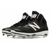 New Balance Men's Mid-Cut 4040v3 Metal Cleat Black