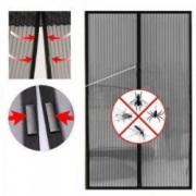 Plasa impotriva insectelor cu inchidere magnetica ROZ + Spinner Cadou+ cadou casti telefon cu fir