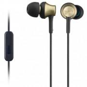 Casti audio In-ear Sony MDREX650APT, Control Telefon, Negru/Auriu