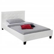 IDIMEX Polsterbett MARIA 120 x 200 in weiß