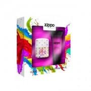 Zippo POP ZONE For Her: 40 ml spray Eau de Toilette + all Over Shampoo 100 ml