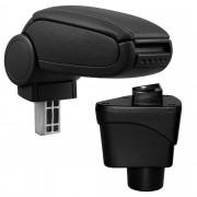 [pro.tec]® Středová loketní opěrka pro Ford EcoSport II - černý koženkový potah