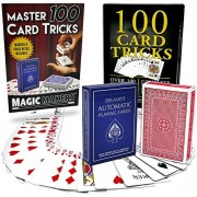 Magic Makers 100 Card Tricks Kit - Automatic Marked Deck & Svengali Trick Deck Included - Magic Tricks With Cards