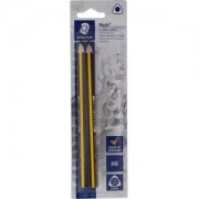 Staedtler Noris® Jumbo Schreiblernbleistift, Bleistift in ergonomischen Jumbo-Dreikantformat , 1 Packung = 2 Stück, HB