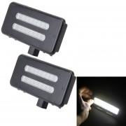 2 PCS De Luz Blanca LED Lampara Coche Luz Espejo De Vanidad Con 18 Smd-3528 Lámparas Para BMW E60 / E60n / E61 / E61n / E90 / E90n / E91 / E91n / E92 / E92n / E70 / E71 / E84 / F25 / X3