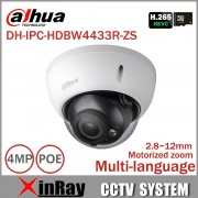 Dahua 4mp IP Camera IPC-HDBW4433R-ZS Replace IPC-HDBW4431R-ZS IP CCTV Camera with Better Night vision IR 50M Vari-Focus Camera
