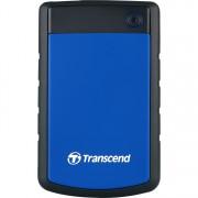 Transcend StoreJet 25H3B 1TB externe Harde schijf TS1TSJ25H3B, Micro-USB-B 3.2 (5 Gbit/s)