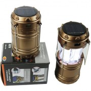 Solar Rechargeble Emergency Camping Light Camping Lantern 6+1 LED Light Torch Lantern Pack Of 1