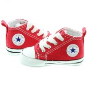 Converse - Tenisi All Star Crib Trainers, First Star, Rosu