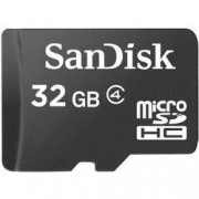 SanDisk Paměťová karta microSDHC, 32 GB, SanDisk SDSDQM-032G-B35, Class 4