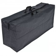 Nature Cover for Cushion 57 x 128 37 cm PE Dark Grey 6030609