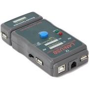 Gembird NCT-2 Ethernet kábel tesztelő UTP, STP és USB kábelek számára