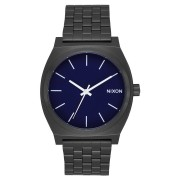 Nixon Time Teller Watch All Black Dark Blue