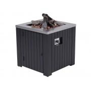 Garden Impressions Cozy Living sfeerhaard Faro 60x60xH61 cm zwart