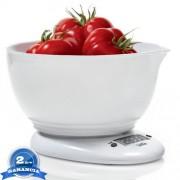 LAICA digitális konyhai mérleg mérőtállal - fehér