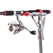 LEO 28006 Folding Stainless Steel Spring Automatic Fishing Rod Holder 8KG Pull Spring Bracket