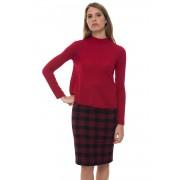 Red Valentino Maglia in lana Rosso/bianco Lana Donna
