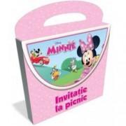 Disney Junior. Posetuta Minnie. Invitatie la picnic