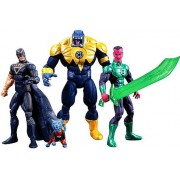 SDCC 2013 DC Comics Super Heroes - Black Hand, Green Lantern, Sinestro Arkillo & Dex-Starr
