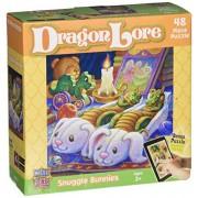 MasterPieces Puzzle Company Dragon Lore Snuggle Bunnies Value Jigsaw Puzzle (48-Piece), Art by Randa