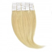 Tape-In Par Natural Volum 50cm 40suv 170gr Blond Ultra Cenusiu #Lightsilver
