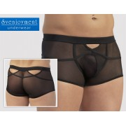 Svenjoyment Powernet Cut Out Boxer Brief Underwear Black 2130840