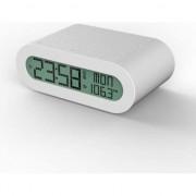 Radio cu ceas oregon RRM116 alb