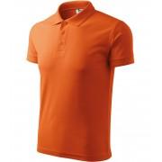 ADLER Pique Polo Polokošile 20311 oranžová XL