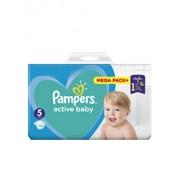 Scutece Pampers Active Baby Junior 5 Mega Box, 11-18 kg, 110 buc