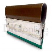 Rodo de alumínio para serigrafia (silk screen) 80 cm poliuretano verde