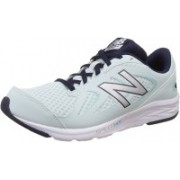 New Balance W490LA4 Running Shoes For Women(Green, Silver)