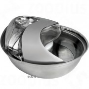 Fontána Raindrop z nerezové oceli - 1,7 l - balení náhradních filtrů (3 ks)