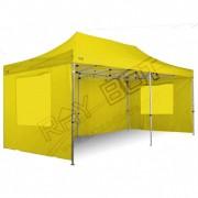 ray bot Gazebo pieghevole 3x6 giallo Exa 45mm alluminio TOP senza laterali PVC 350g