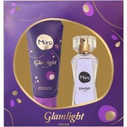 Miro Perfumes femeninos Glamlight Set de regalo Eau de Parfum Spray 50 ml + Perfumed Bath & Shower Gel 100 ml 1 Stk.