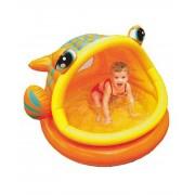 Piscina gonflabila Lazy Fish pentru copii