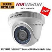 HIKVISION DS-2CE56D1T-IRP (2MP)Turbo HD1080P DOME CCTV Security Camera