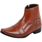 Elvace Brown Desert Boot - 5011