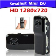 Mini DV Spy Camera Spia MD80 TD8 HD 1280x720 Voice Detected