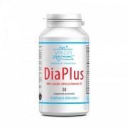 DiaPlus (30 comprimate) - supliment alimentar 100% natural special pentru bolnavii de diabet