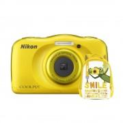 Nikon Coolpix W100 Aparat Foto Compact Subacvatic Backpack Kit cu Rucsac Galben