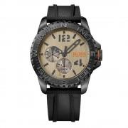 Hugo Boss 1513422 Reykjavik oro & nero gomma multi-funzionale orologio