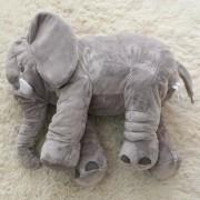 Eh Peluche De Elefante Almohada 50x60cm -Gris