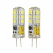 JRLED G4 3W 170lm 24-SMD 2835 LED Lamparas de cristal blanco frio