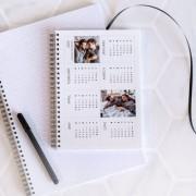 smartphoto Anteckningsbok med kalender A5