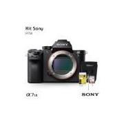 Câmera digital Sony Alpha A7S II Mirrorless (somente corpo), com Cartão de 32gb (C/10), Bolsa, Tripé de mesa e Kit Limpeza