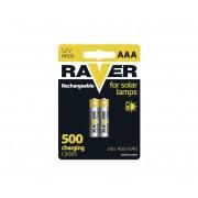 2 buc Baterii reîncărcabile AAA RAVER NiMH/1,2V/400 mAh