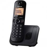 Безжичен DECT телефон Panasonic KX-TGC210 FXB, Черен, 1015127