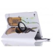 360° draaibare konijn design tablethoes voor de iPad Mini 4